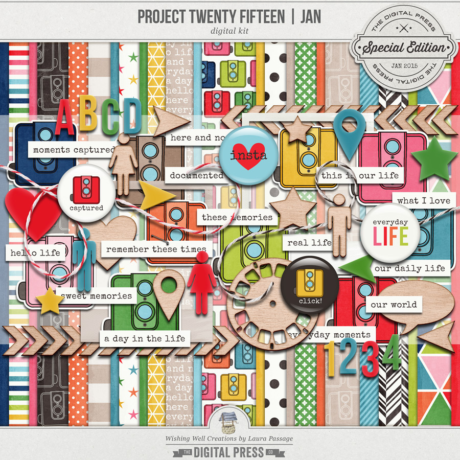 Project Twenty Fifteen | January Kit