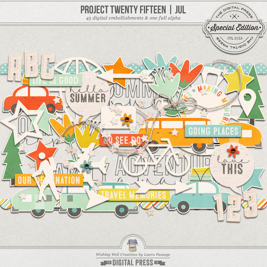Project Twenty Fifteen | July Elements