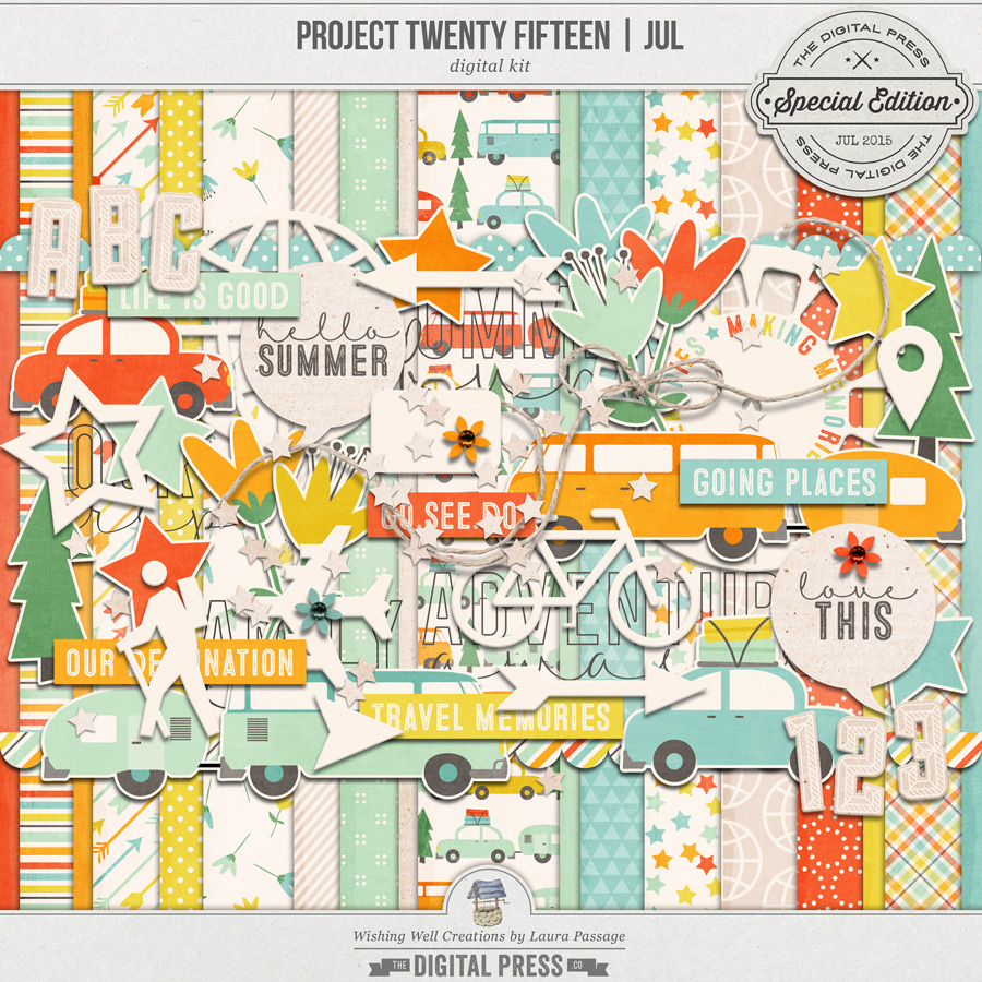 Project Twenty Fifteen | July Kit