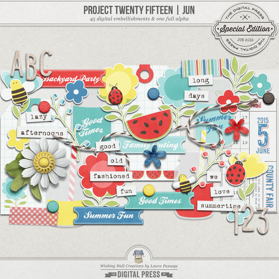 Project Twenty Fifteen | June Elements