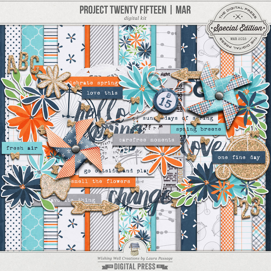 Project Twenty Fifteen | March Kit
