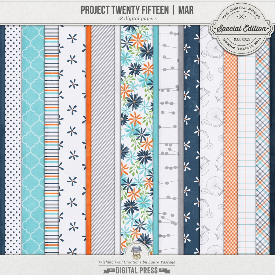 Project Twenty Fifteen | March Paper