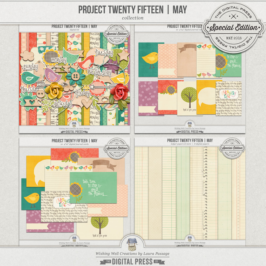 Project Twenty Fifteen | May Collection