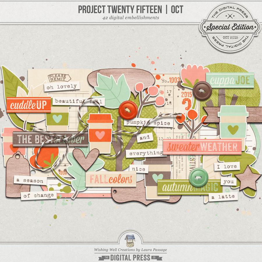Project Twenty Fifteen | October Elements