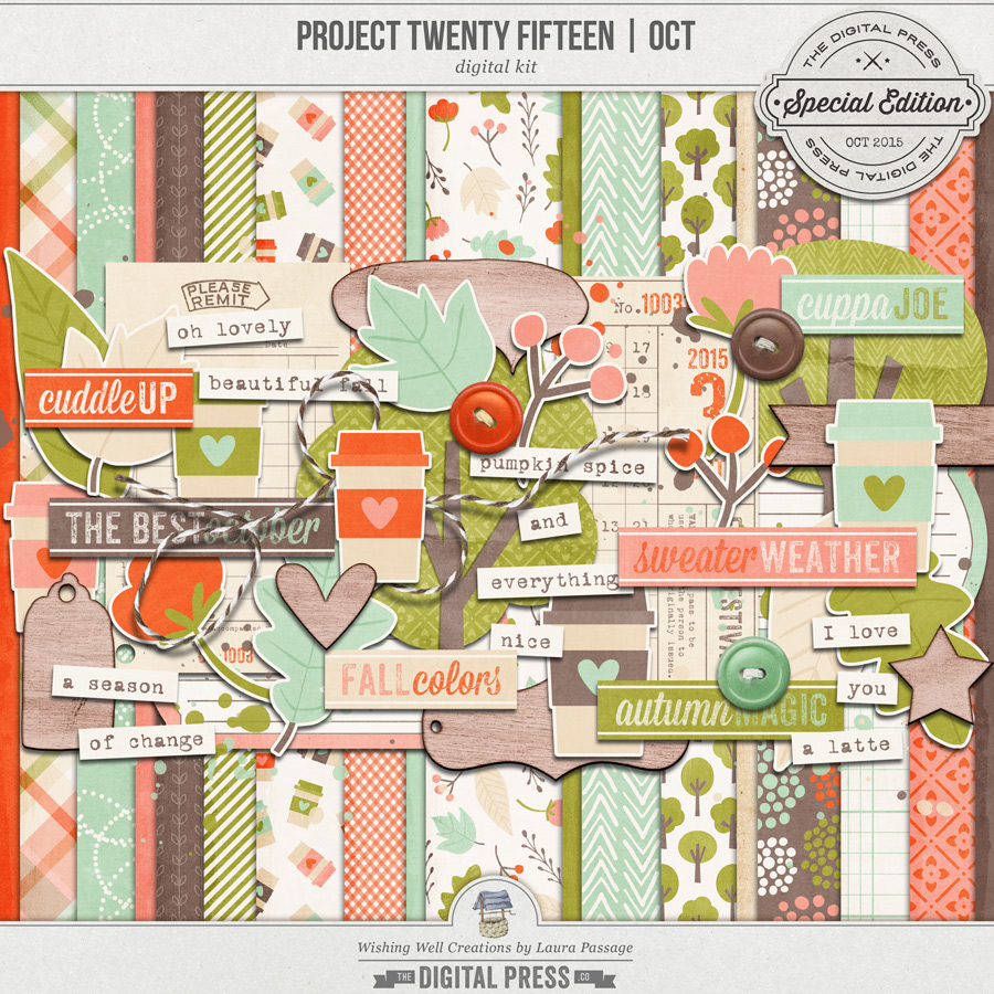 Project Twenty Fifteen | October Kit