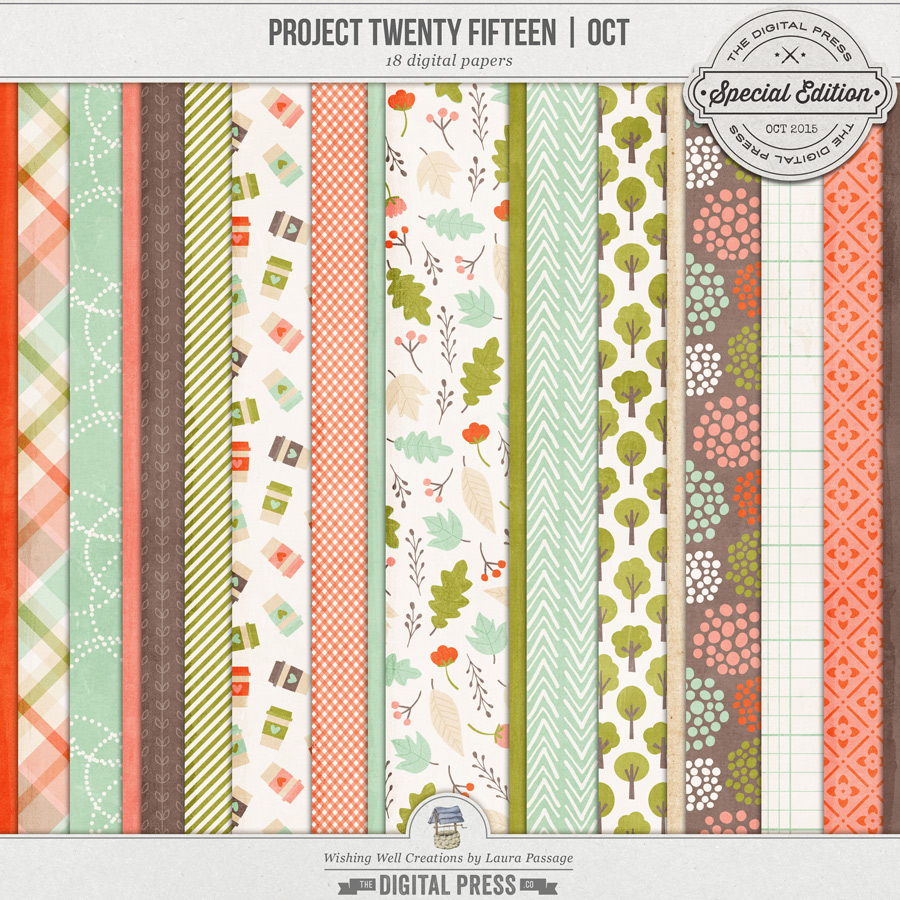 Project Twenty Fifteen | October Paper
