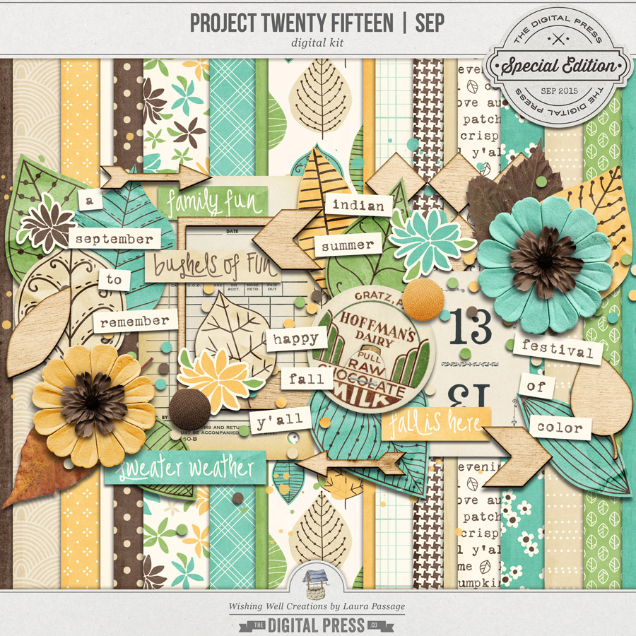 Project Twenty Fifteen | September Kit