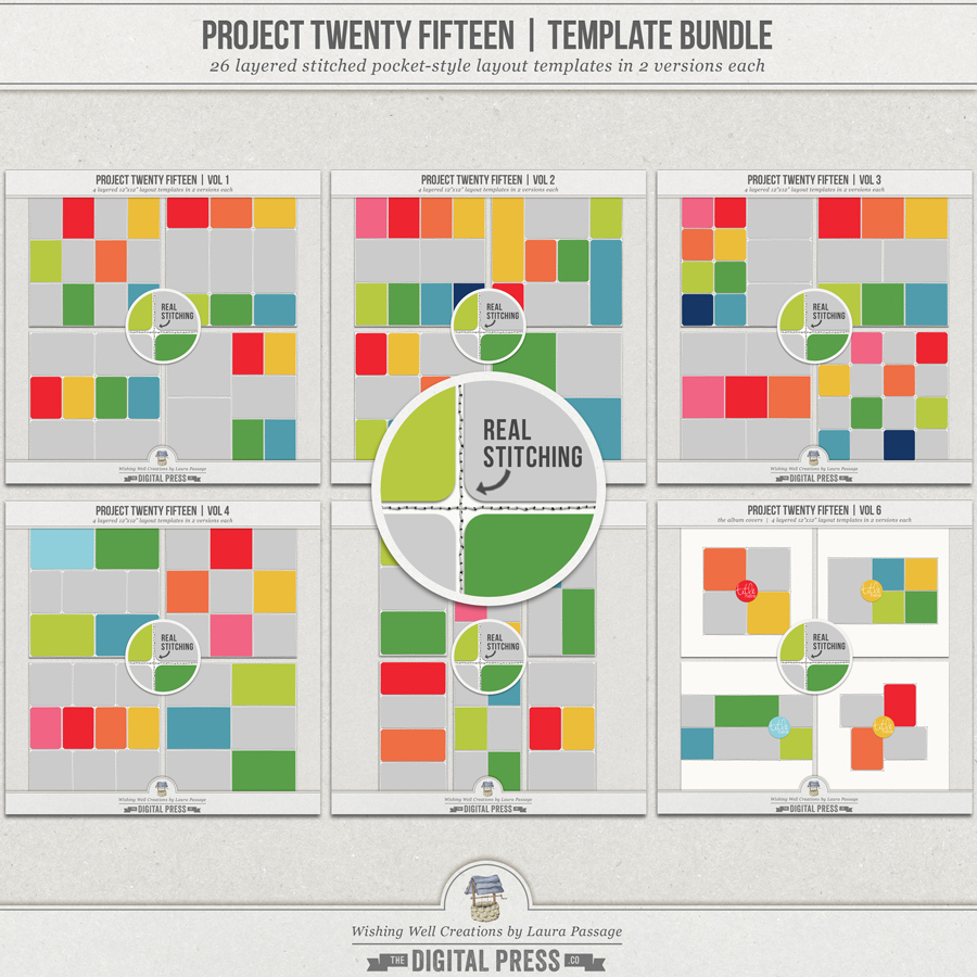 Project Twenty Fifteen | Template Bundle