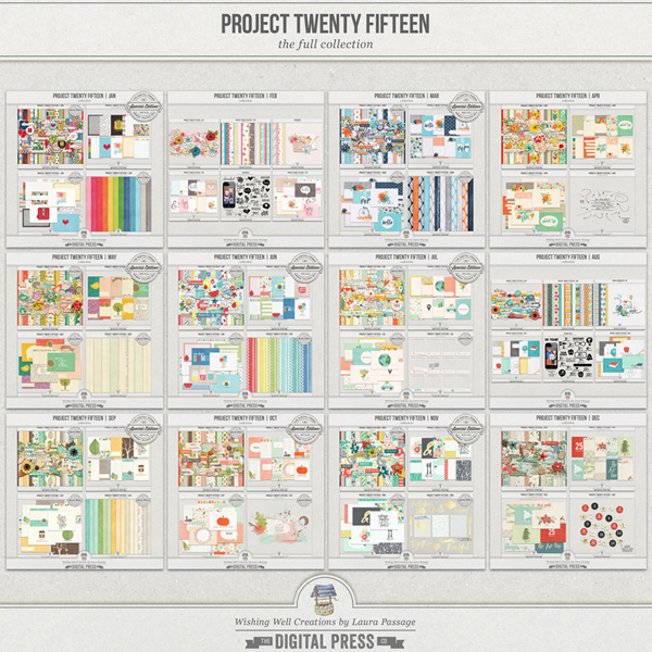 Project Twenty Fifteen | The Full Collection