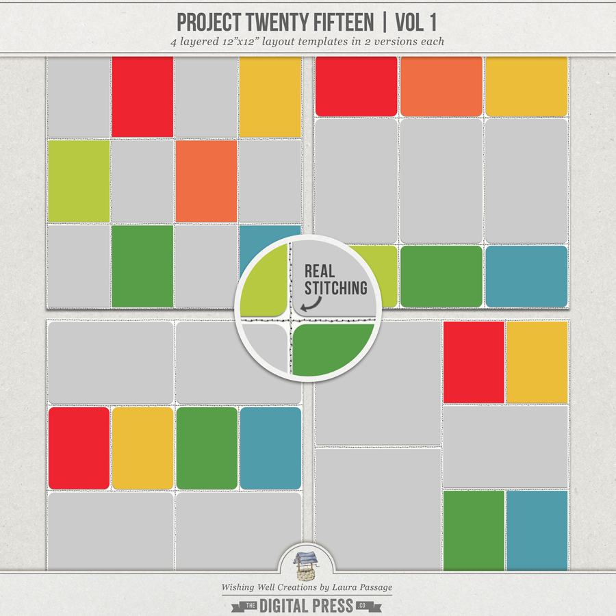 Project Twenty Fifteen (Vol 1) | Templates