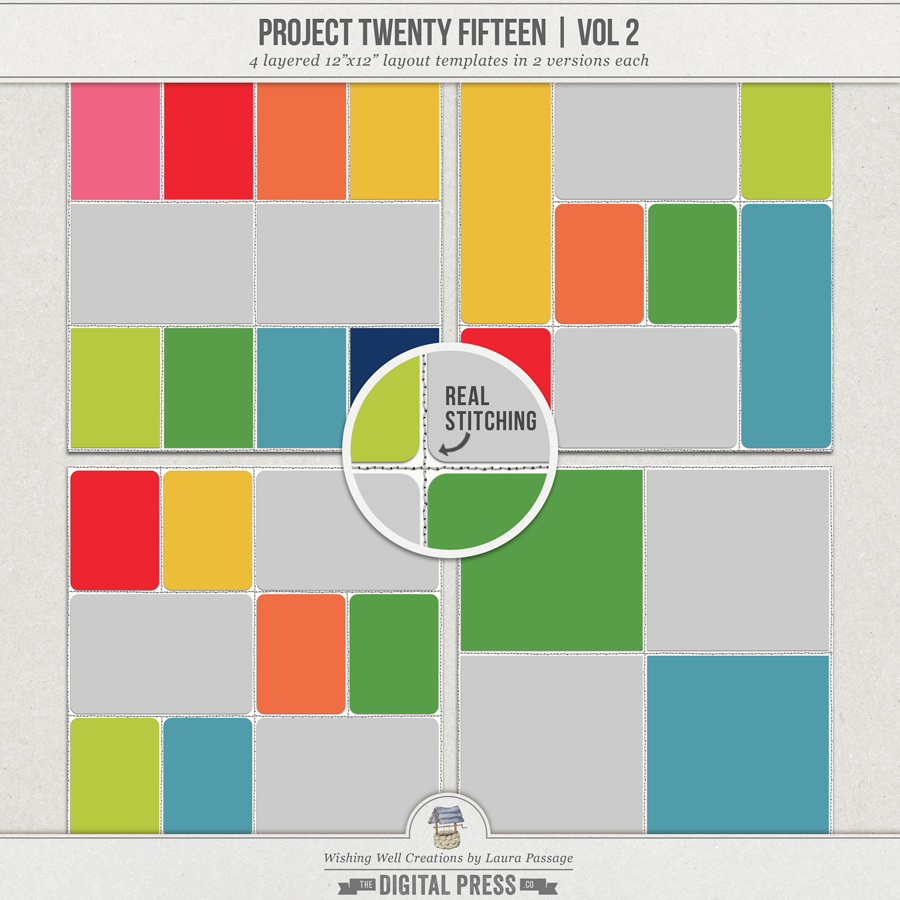 Project Twenty Fifteen (Vol 2) | Templates