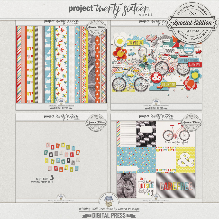 Project Twenty Sixteen | April Collection