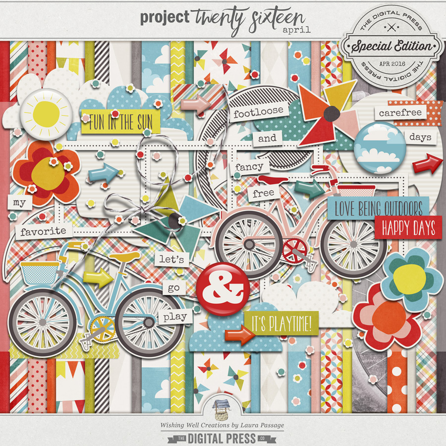 Project Twenty Sixteen | April Kit