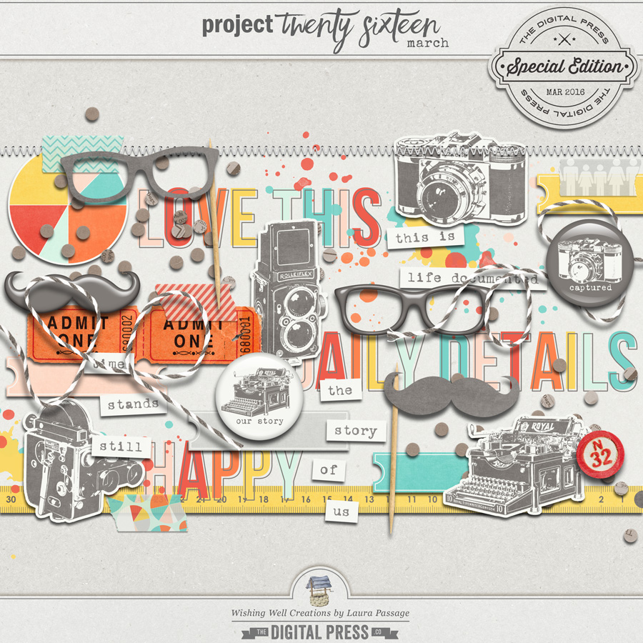 Project Twenty Sixteen | March Elements