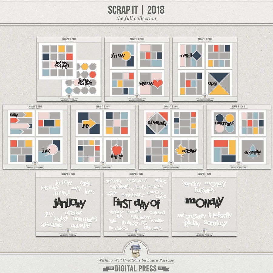 Scrap It | 2018 The Full Collection