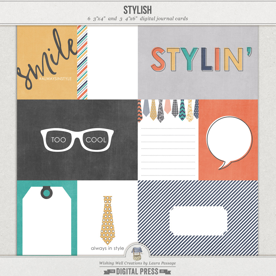 Stylish | Journal Cards