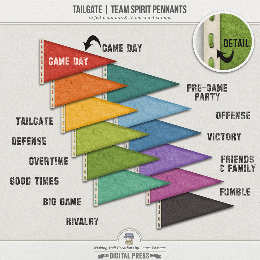 Tailgate | Team Spirit Pennants