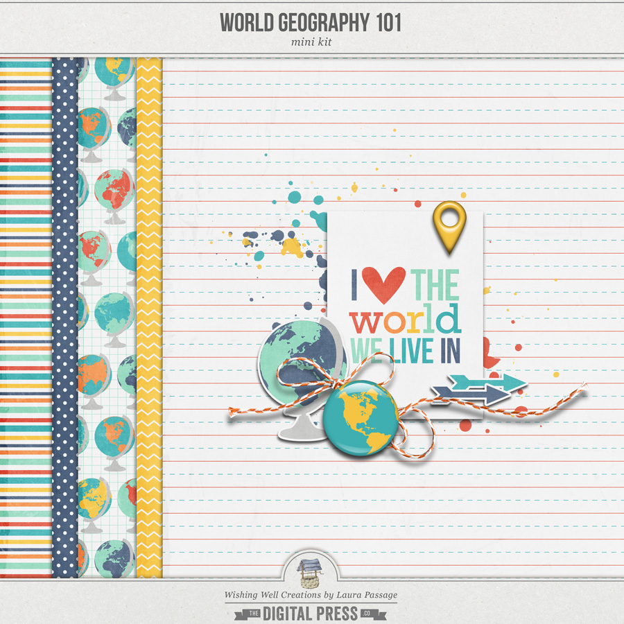World Geography 101 | Mini Kit