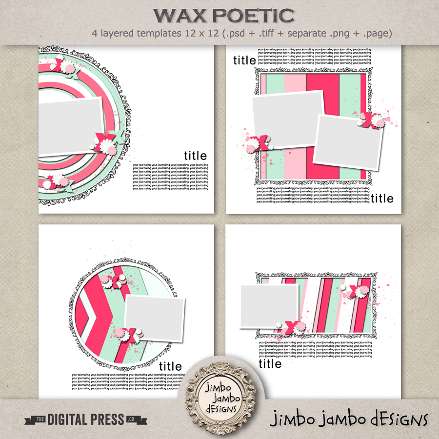 Wax poetic | Templates