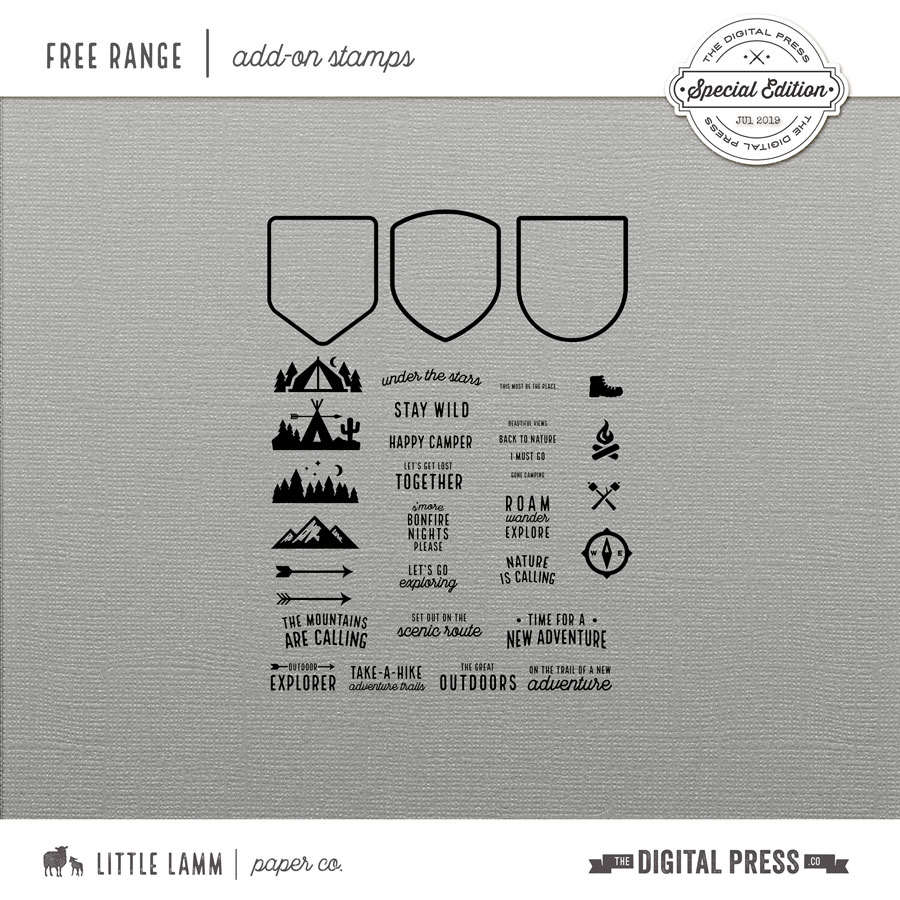 Free Range | Add On Stamp Set