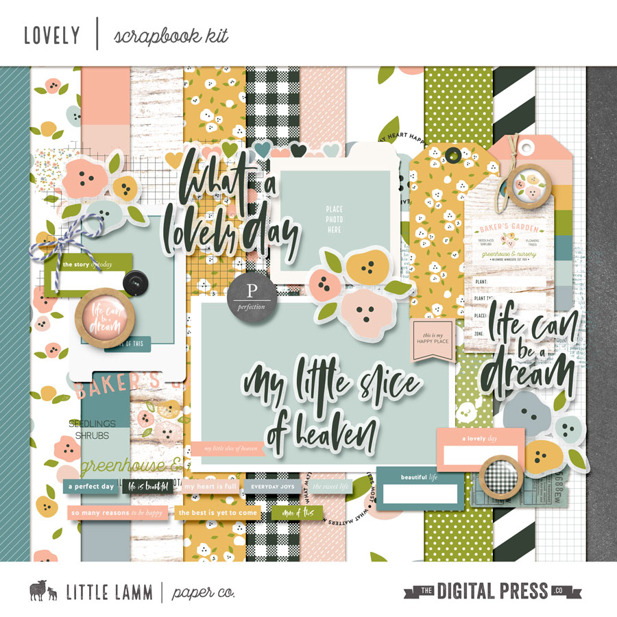Lovely | Scrapbook Kit