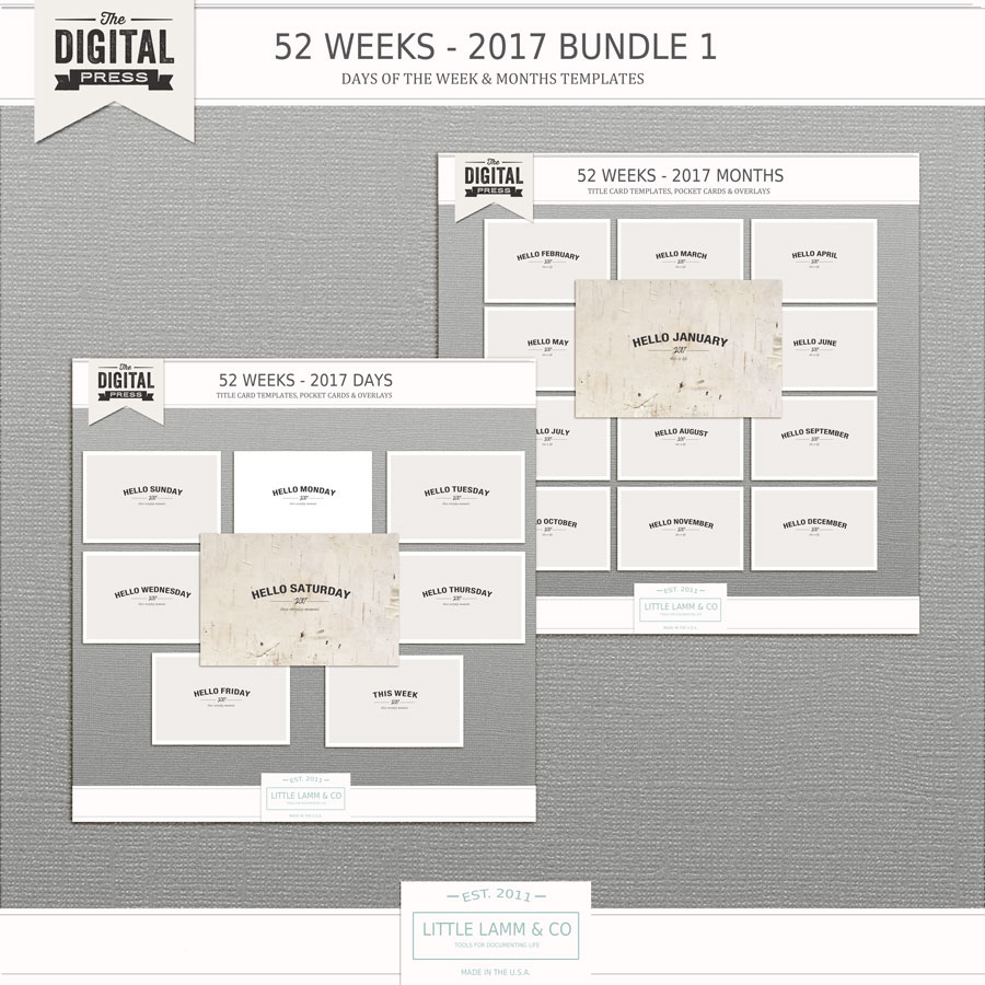 52 Weeks│Volume 2│Bundle No 1