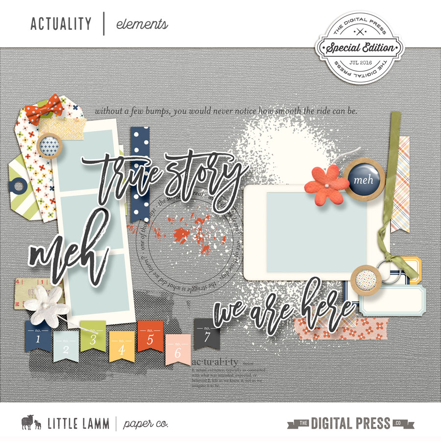Actuality | Elements