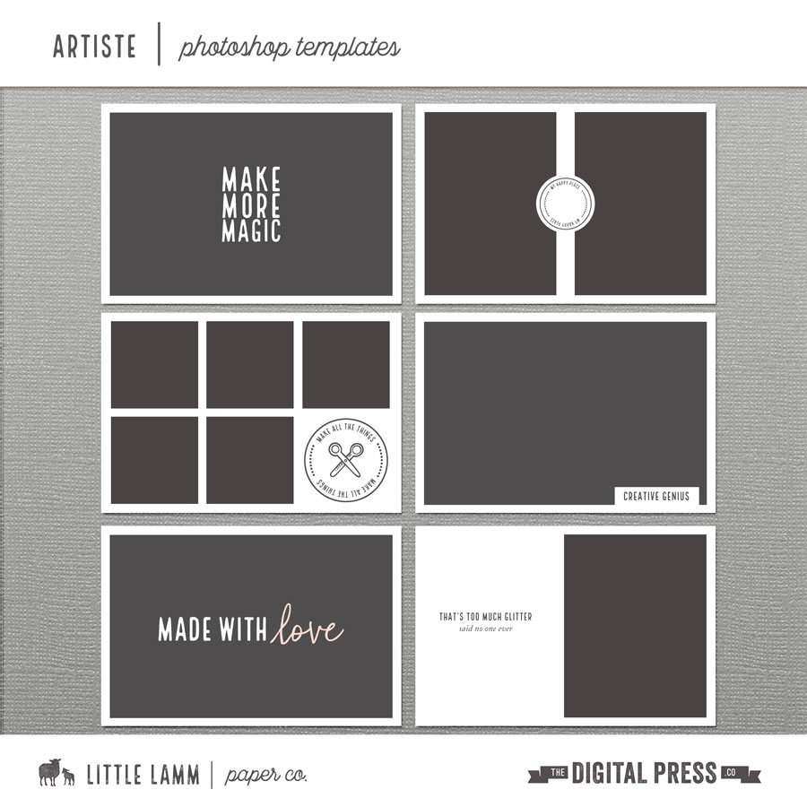 Artiste | Photoshop Templates