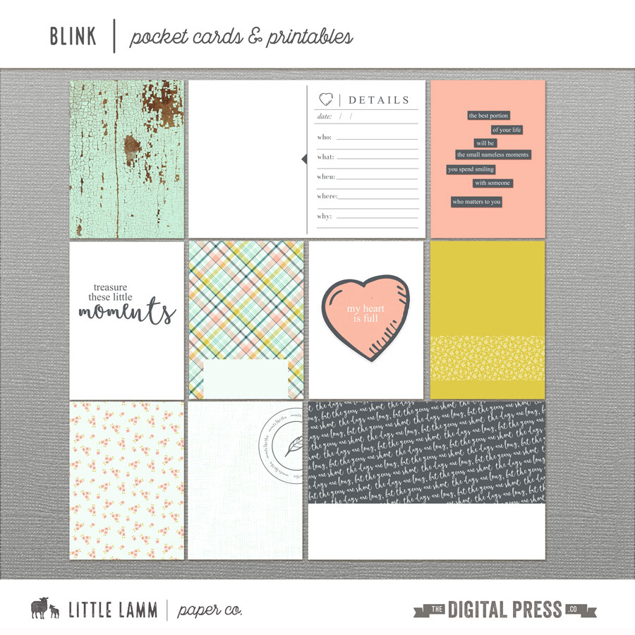 graphic relating to Pocket Pattern Printable called Blink Pocket Playing cards Printables