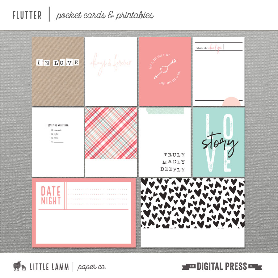 Flutter | Pocket Cards and Printables