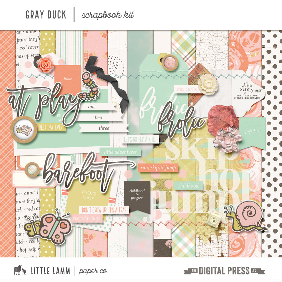 Gray Duck | Scrapbook Kit