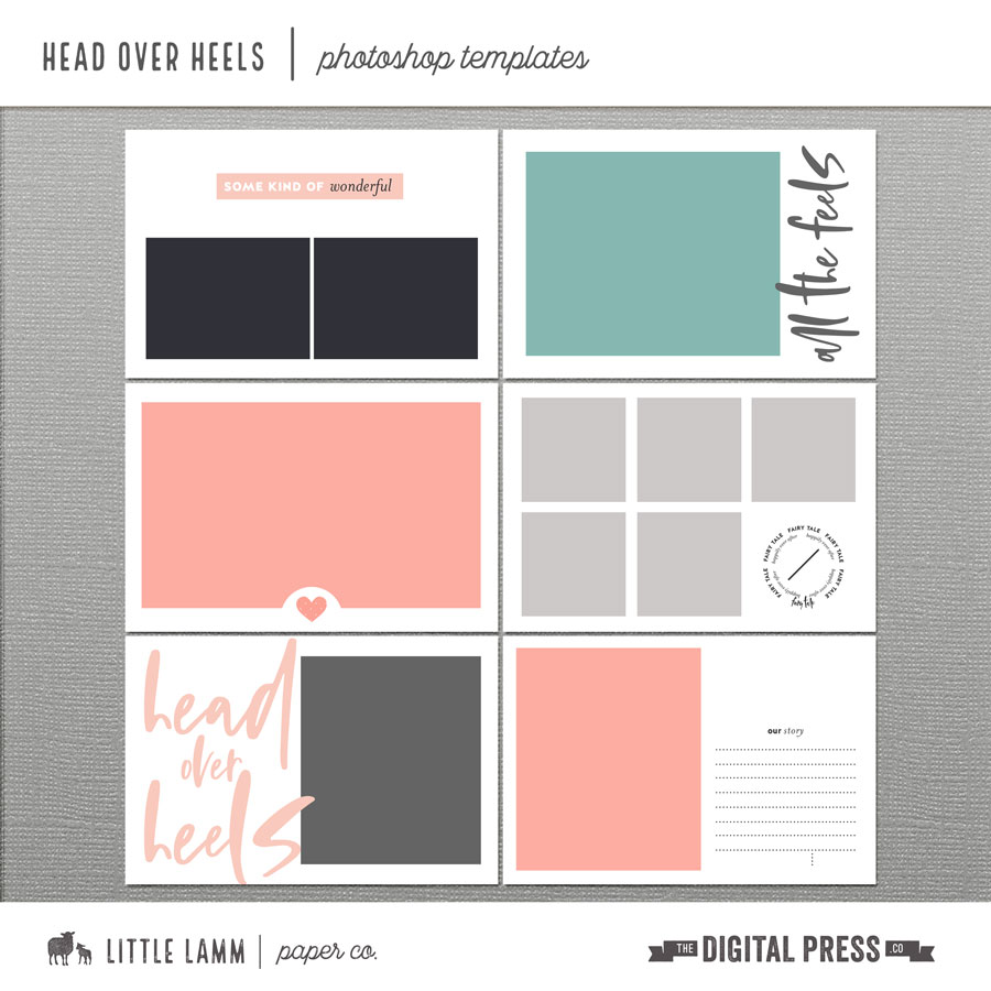 Head Over Heels | Photoshop Templates