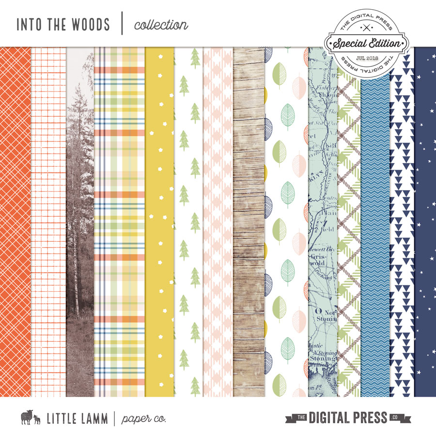 Into The Woods│Pattern Papers