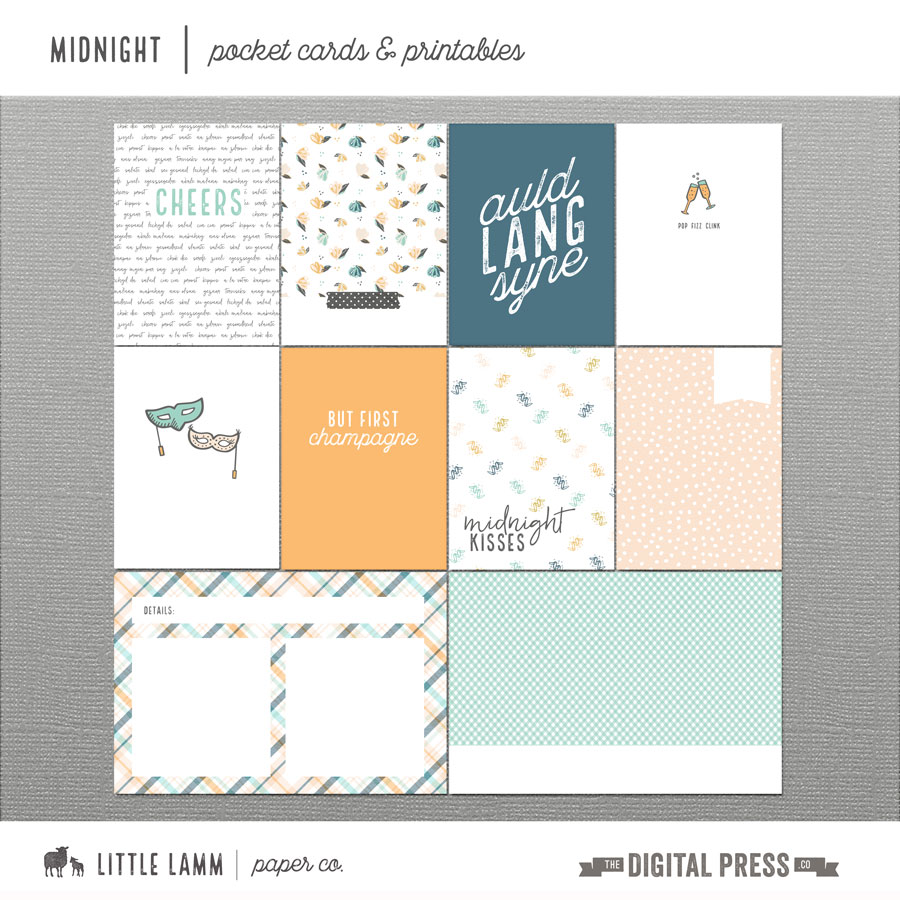 Midnight | Pocket Cards and Printables