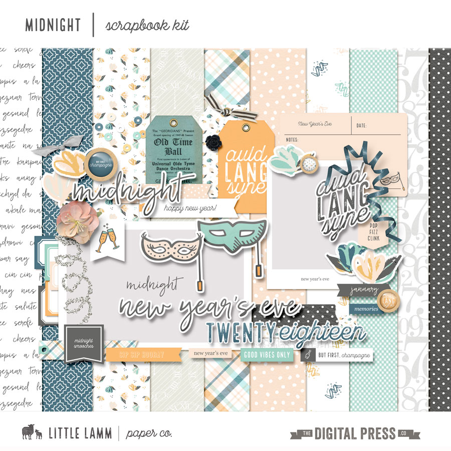 Midnight | Scrapbook Kit