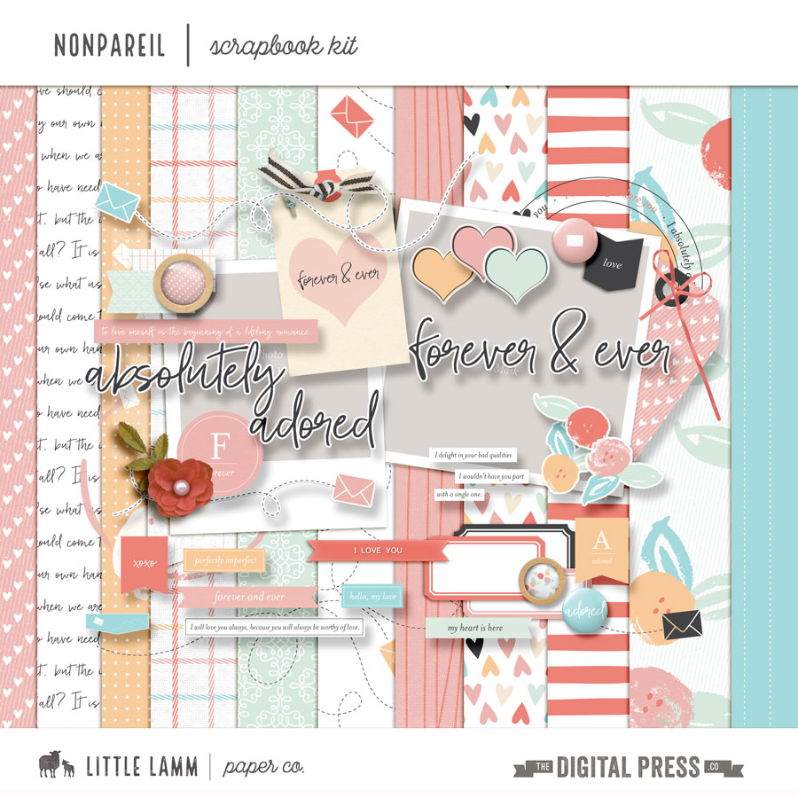 Nonpareil | Scrapbook Kit