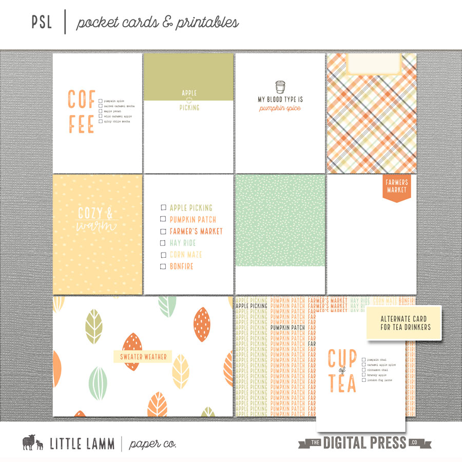 PSL | Pocket Cards & Printables