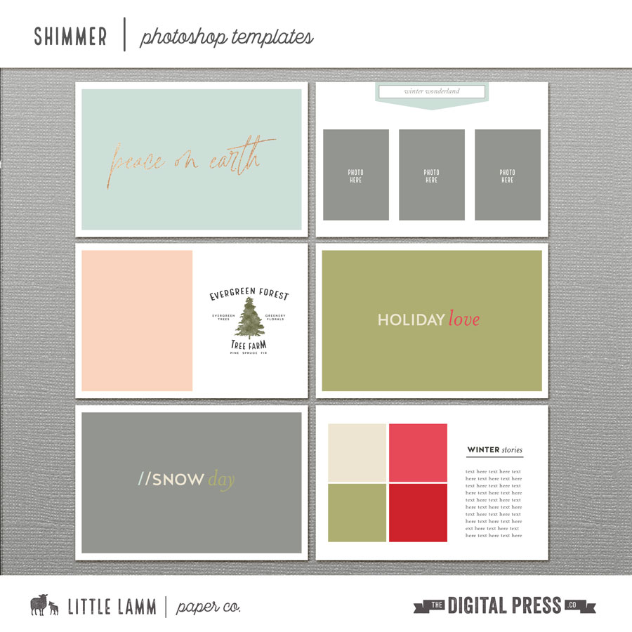 Shimmer | Photoshop Templates