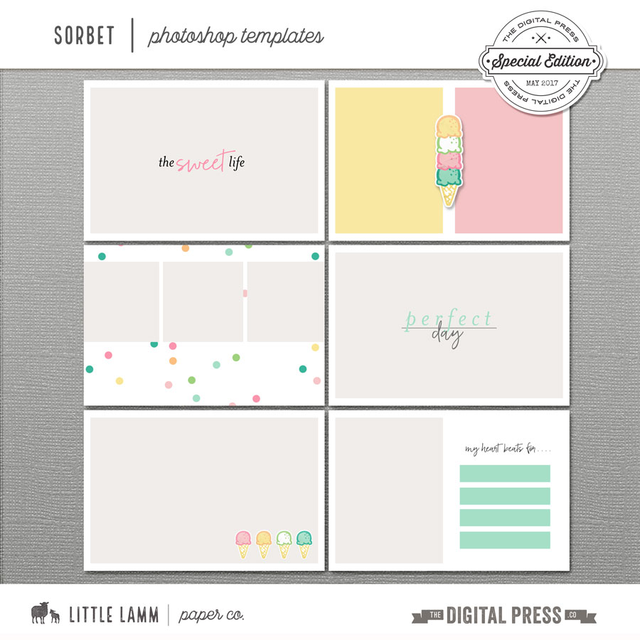 Sorbet | Photoshop Templates