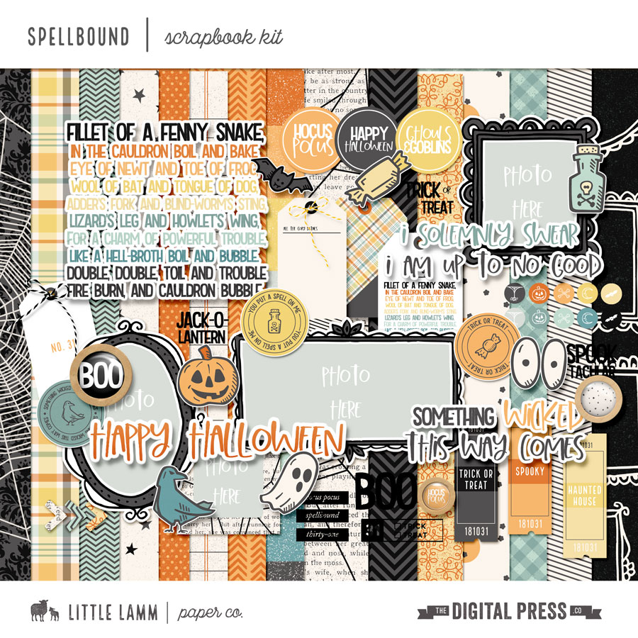 Spellbound | Scrapbook Kit