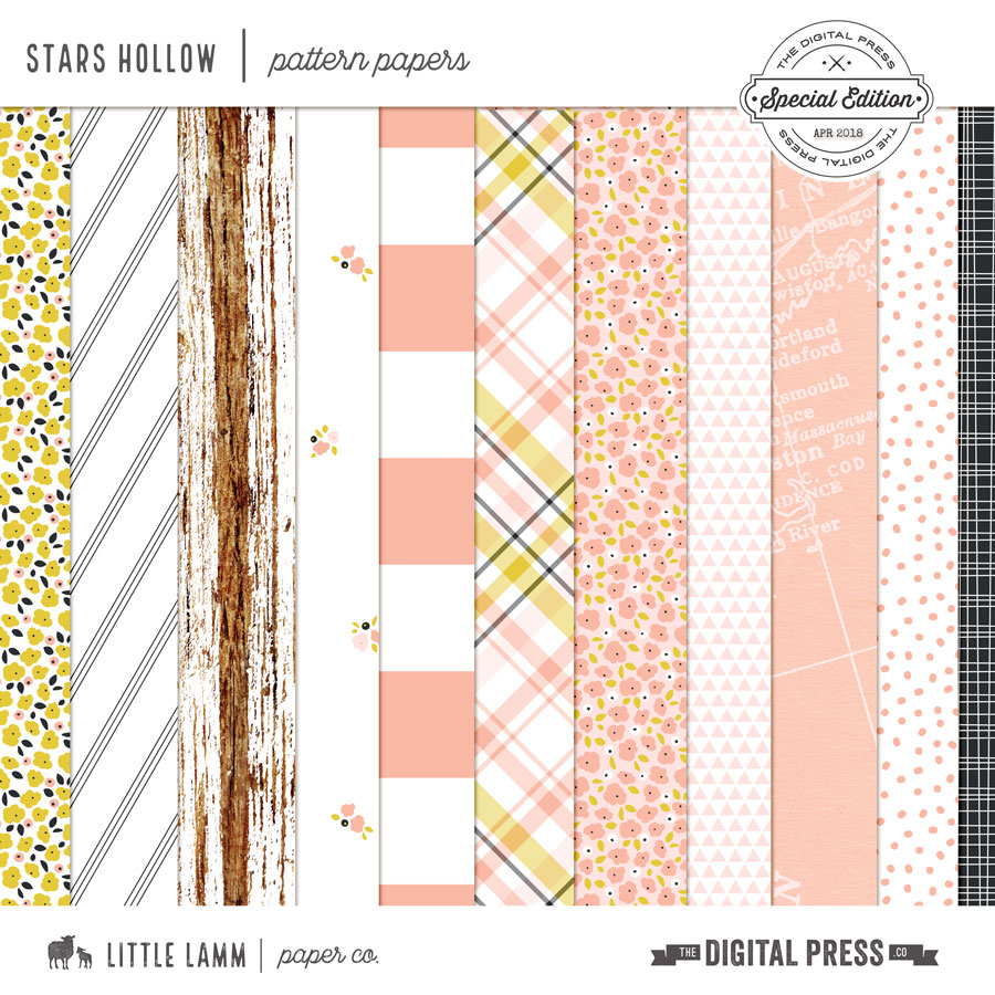 Stars Hollow | Pattern Papers