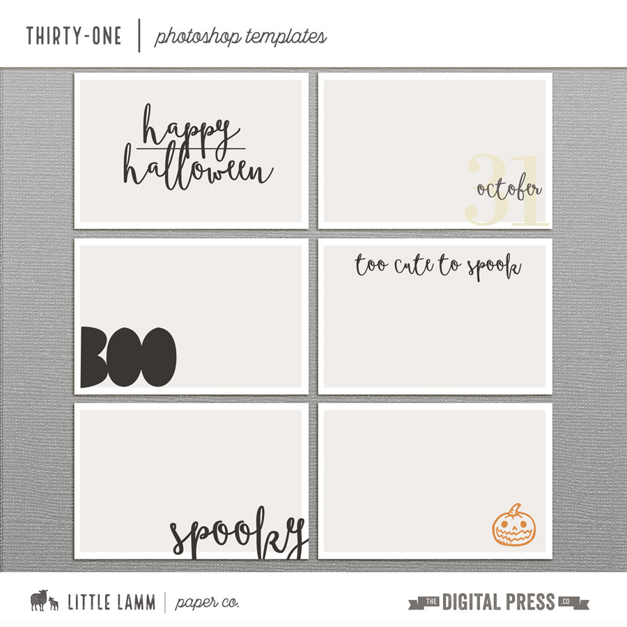 Thirty-One | Photo Templates