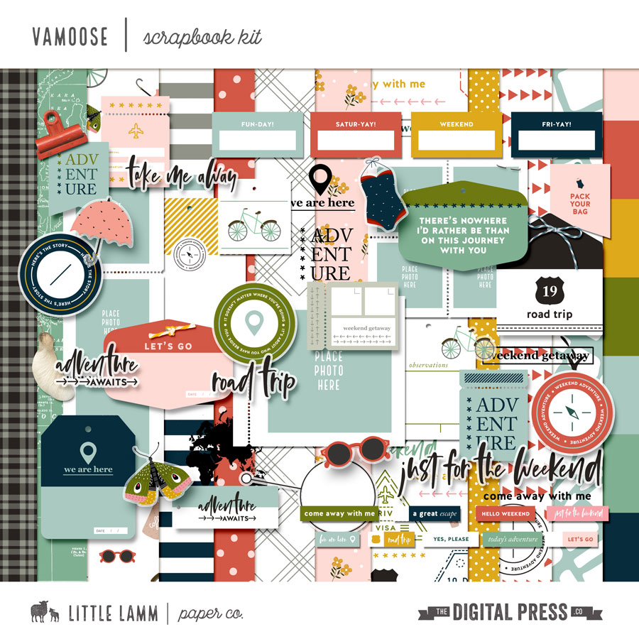 Vamoose | Scrapbook Kit