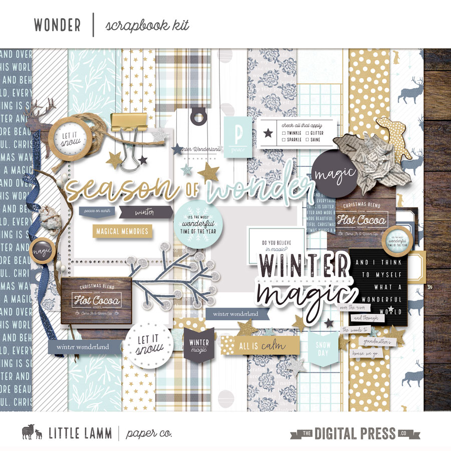 Wonder | Scrapbook Kit
