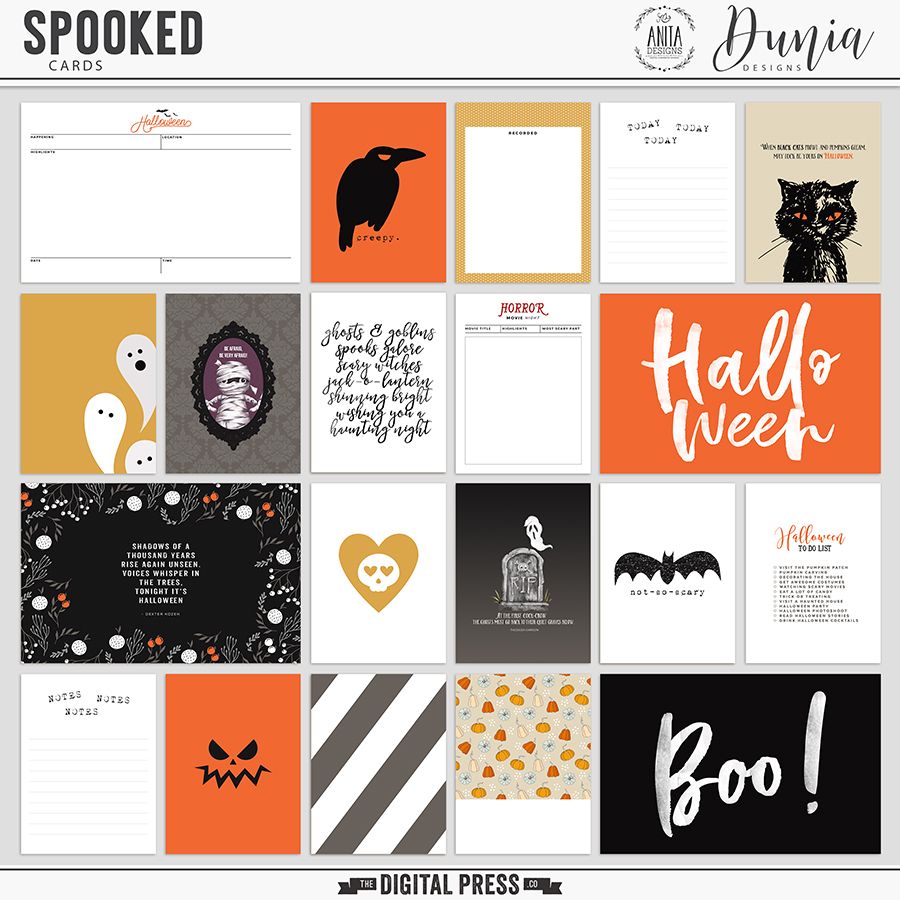 Spooked | Cards