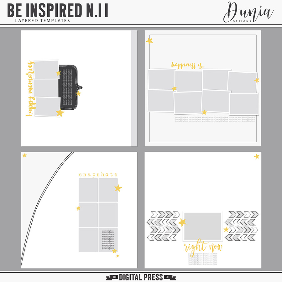 Be Inspired N.11 | Layered Templates