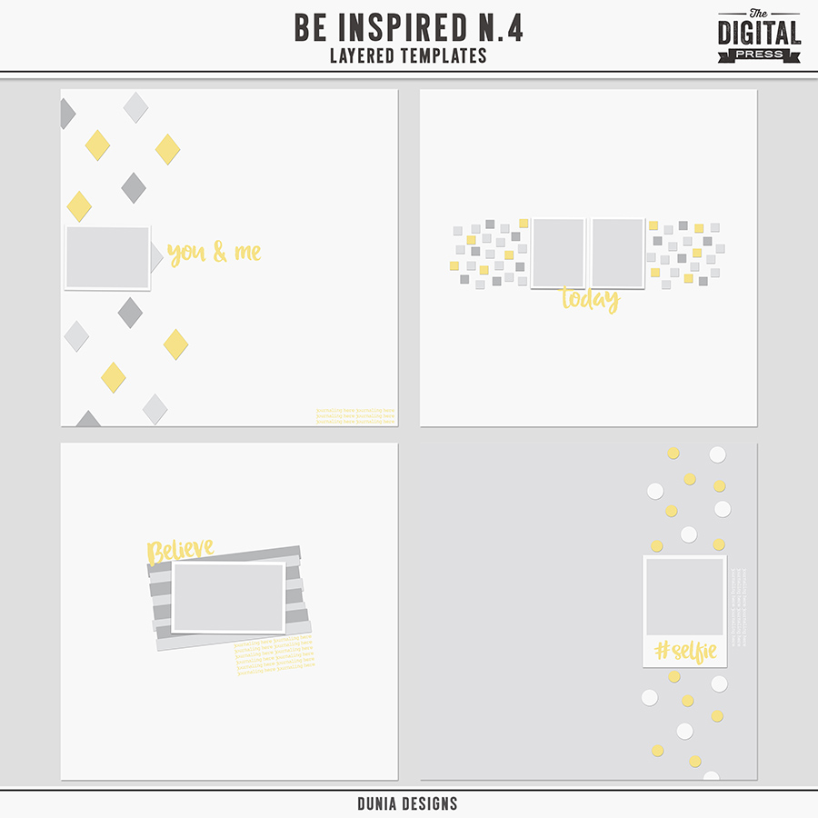 Be Inspired  N.4 - Layered Templates