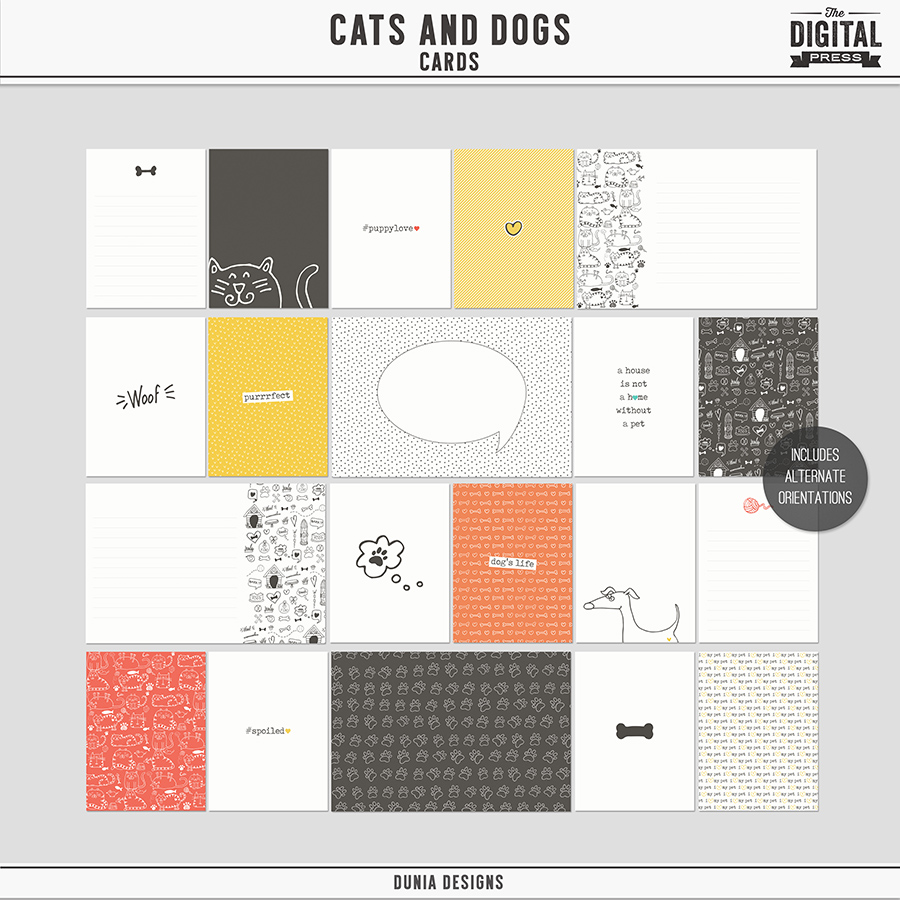 Cats & Dogs | Cards