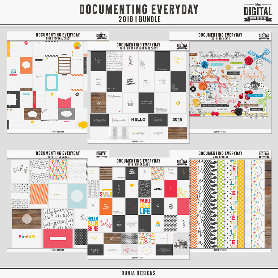Documenting Everyday (2018) Bundle