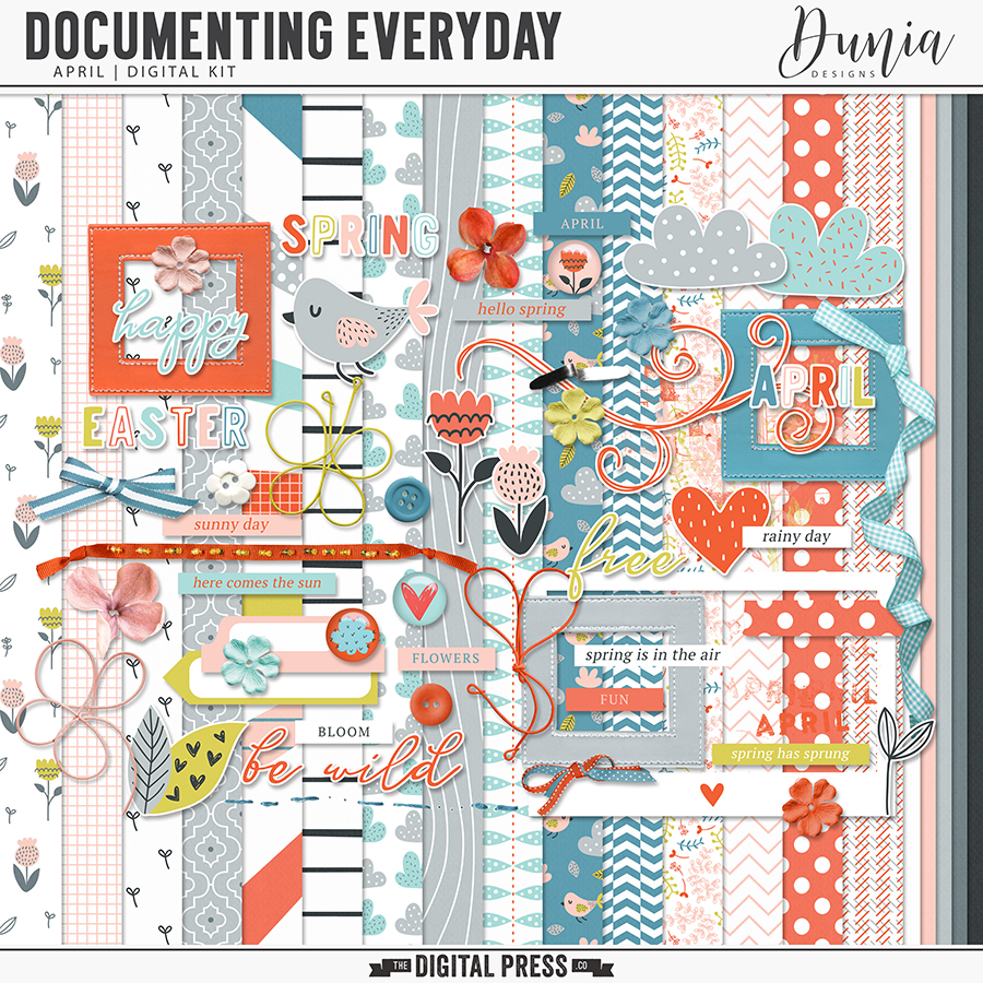 Documenting Everyday | April - Kit
